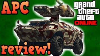 Gambar cover Gunrunning APC review! - GTA online