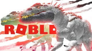 DINOSAUR TESTING ROBLOX! (Roblox Roleplay Family Friendly Gaming)