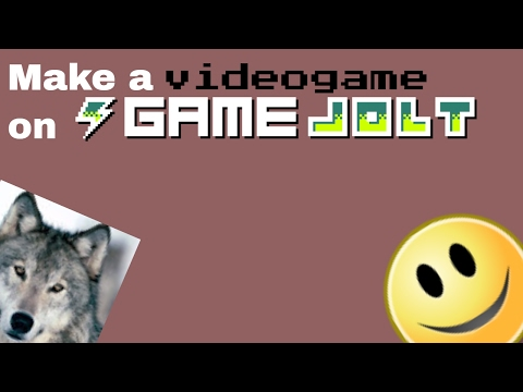 Make A Videogame On Gamejolt! Part 1 (Tutorial) - YT