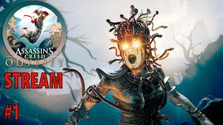 Assassin's Creed Odyssey Stream # 1 - LIVE Gaming