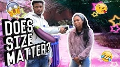 Does Size Matter?  Public Interview! (Georgia State University)