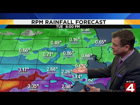 Metro Detroit weather rain forecast for Aug. 12-13, 2019