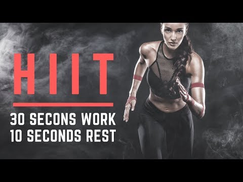 HIIT MUSIC 2018  Turn It Up  3010  7 Minute Workout  12 rounds