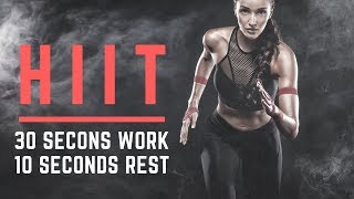 HIIT MUSIC 2018 - Turn It Up - 30/10 | 7 Minute Workout | 12 rounds