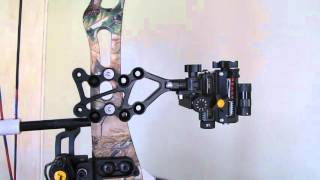 D I Y  Bow Setup Pt. 2 Sight Install and 3rd Axis Adjusting