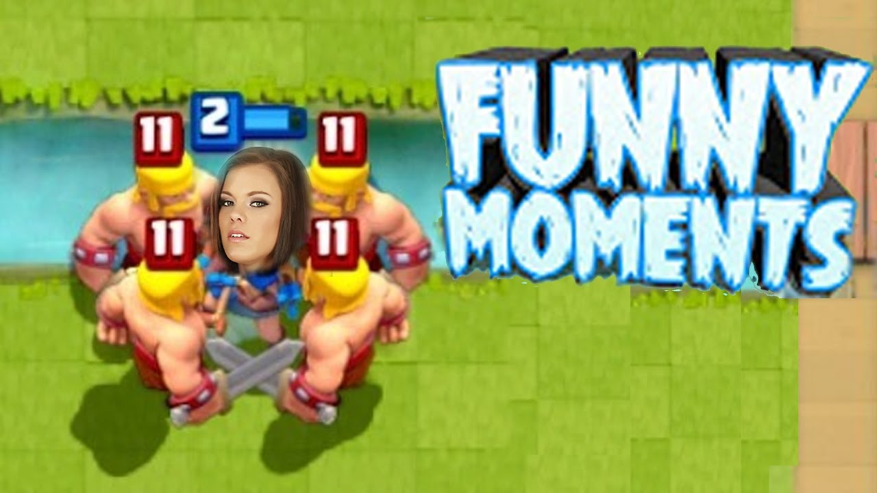 Funny Moments & Glitches & Fails | Clash Royale Montage #1