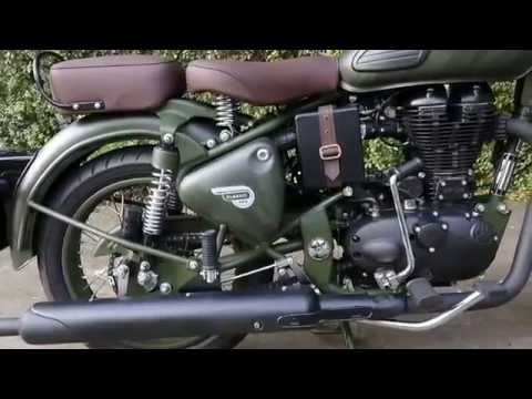 2015 Royal Enfield Despatch Limited Edition Battle Green