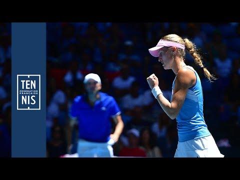 Finale Fed Cup Australie - France : minute bleue n°9 | FFT