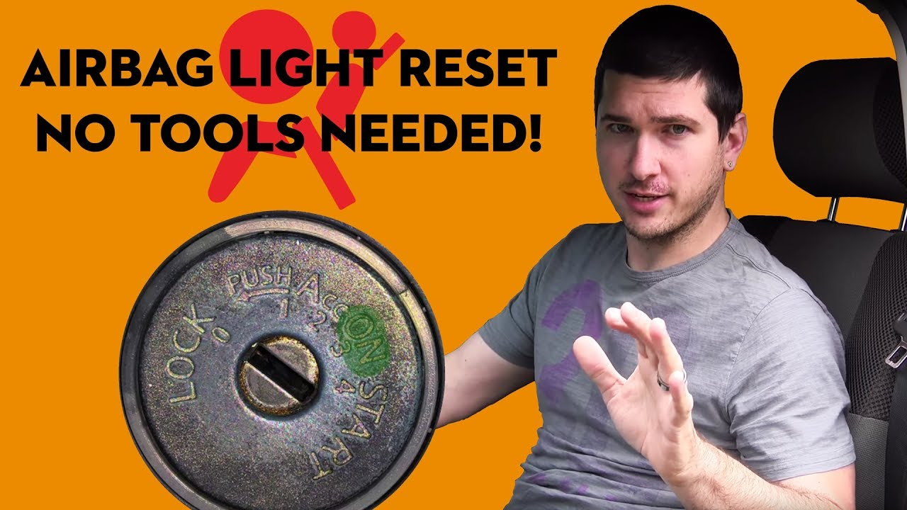 How To Reset The Air Bag Warning Light On A Nissan Easy No Tools Rogue Fuse Box Diagram Lights Required
