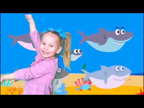 Baby Shark на русском. Акуленок тутуруру. Развивающий мультфильм для малышей. Акула тутуру.