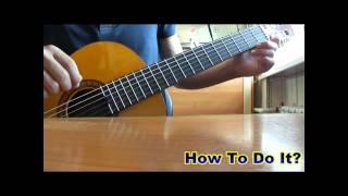 Как определять ноты на ладах гитары, видеоурок.