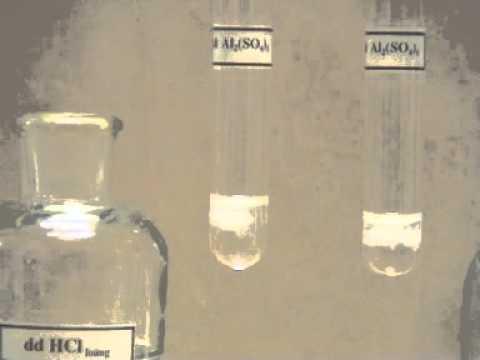 Điều Chế Và Thử Tính Chất Của Nhôm Hidroxit  Al(OH)3