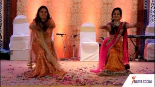Girls Dancing on Bhumro Bhumro song | Sangeet Performance | Natya Social