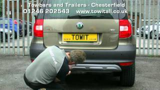 Towbar Video - Skoda Yeti Westfalia Detachable