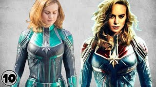 Top 10 Captain Marvel Surprising Facts