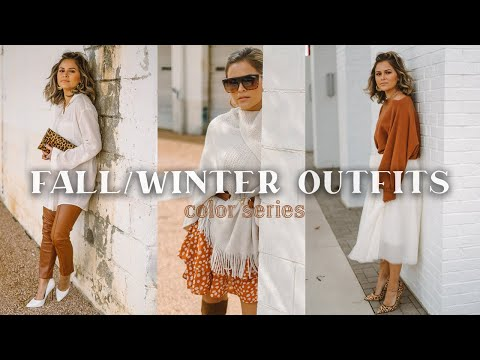 FALL/Winter Outfits - Color Series: Burnt Orange