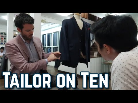 Tailor On Ten - Making My Suit!
