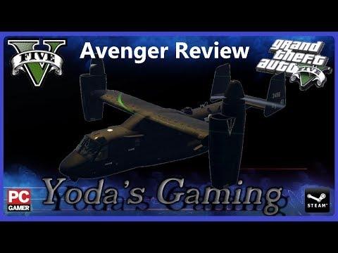 GTA V Avenger - Hidden Features, auto pilot and more!!