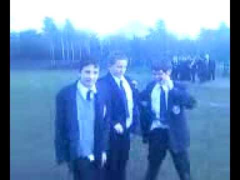 Mcauley school!!!Brad, connor, ashley Spaz run + three sum :L
