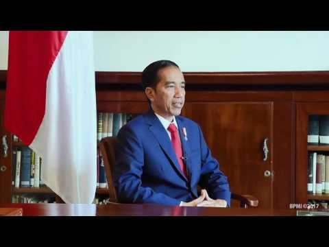 Presiden: Saya Indonesia Saya Pancasila