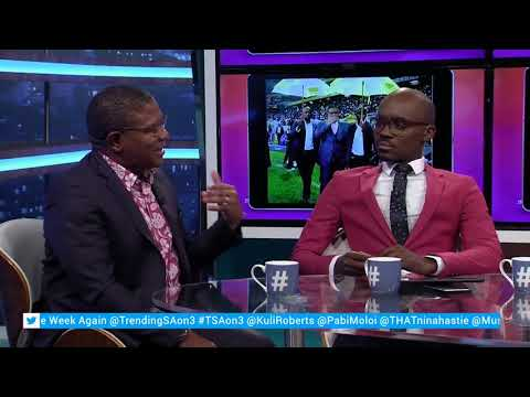 Fikile Mbalula interview | #TSAon3