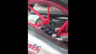 Knalpot WRX GP6 K2/K150 With Catalizer(db killer) Suzuki All New  Satria F150 FI