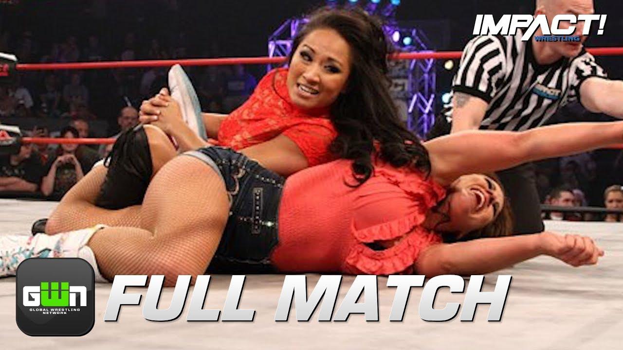 Gail Kim Hot Images gail kim vs mickie james: full match (tna final resolution