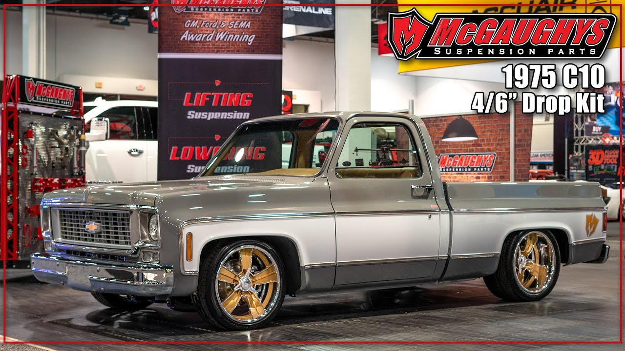 """Details about  /Chevy C10 1960-1987 Front Lowering Shock Stock 4.5/"""" Drop 1350 McGaughys"""