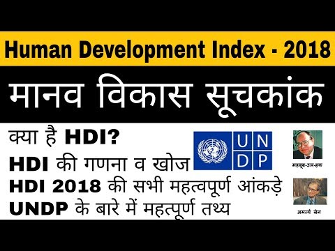 HDI - 2018 मानव विकास सूचकांक || Human Development Index 2018 || Latest Report by UNDP ||