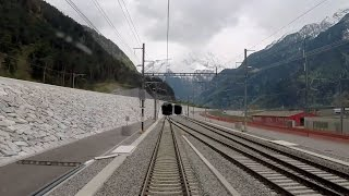 Der Gotthard-Basistunnel. / La galleria di base del San Gottardo. thumbnail