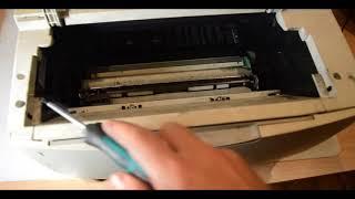 Разборка принтера Xerox Phaser 3420/3425.Возможные неисправности