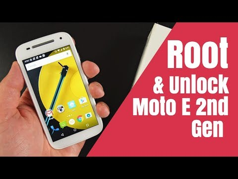 How to Root Moto e 2nd gen Unlock Bootloader + TWRP Installation