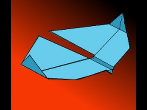 paper airplane instructions video