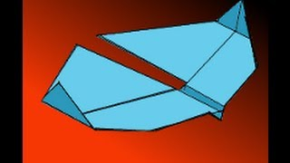 How To Make The Typhoon Paper Airplane Video Instructions