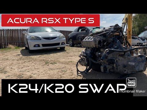 ACURA RSX TYPE S  K24/K20 PART  1