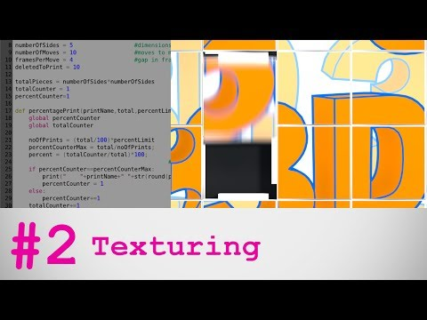 Blender Tutorial: Slider Puzzle Part 2 - Texturing
