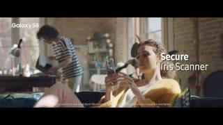 Samsung Galaxy S8: Iris Scanner