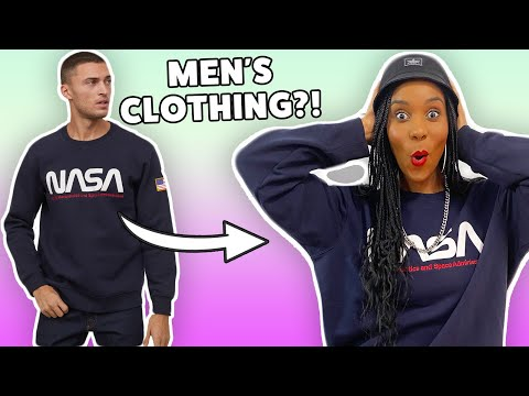 We Wore Men's Clothing For A Week!