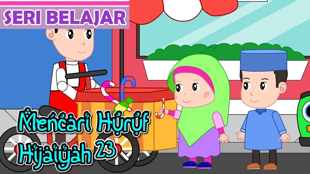 ✓ Terbaik Gambar Kartun Anak Muslim Untuk Mewarnai