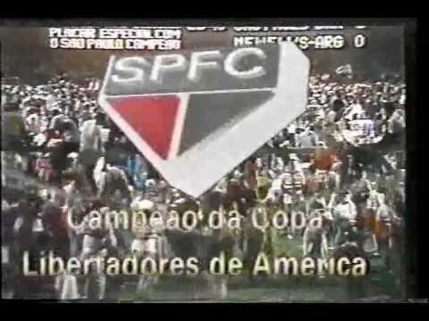 São Paulo 1 x 0 Newells Old Boys - Jogo Completo - Libertadores 1992 - Jogos Históricos #54