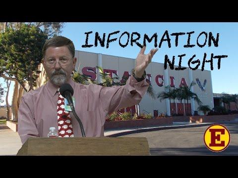 Estancia High School Information Night
