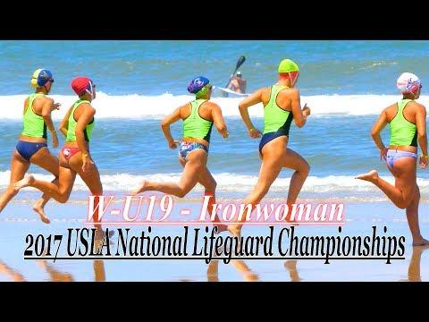 2017 USLA National Lifeguard Championships / Daytona Beach  / W U-19 Ironman Finals
