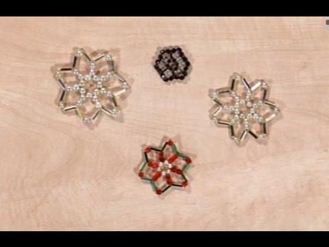ba3f62183 Ako vyrobiť vianočnú hviezdu z korálikov - Artmama.sk - Postup - YouTube