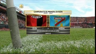 Colon de Santa Fe vs Arsenal S. full match
