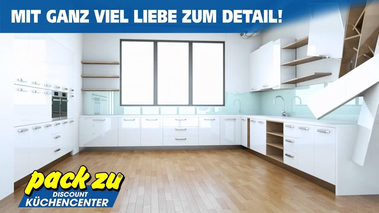 Küchencenter  pack zu Möbel-SB | Discount Küchencenter - YouTube