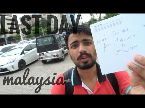 My First Visit to Church in Lifetime |Posting a Post Card |Kuala Lumpur to Delhi |Air Asia Part # 16