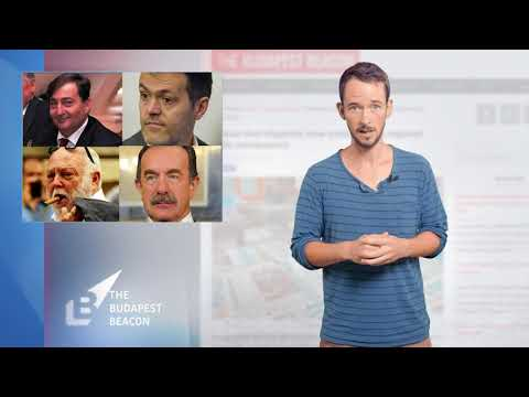 Media corruption in Hungary - Budapest Beacon video news summary, August 12, 2017