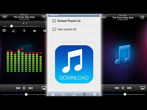 Free Music Download Pro™ [iPad] Video review by Stelapps