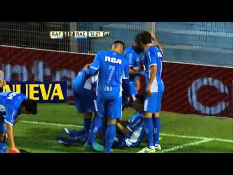 ¡Qué goleada!: Racing atendió a Atlético Rafaela en su casa