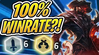 100% Winrate Lucian Build?! 6 GUNSLINGERS & 6 BLADEMASTERS | Teamfight Tactics | TFT | LoL